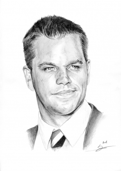 Matt Damon par Monkey-Jack
